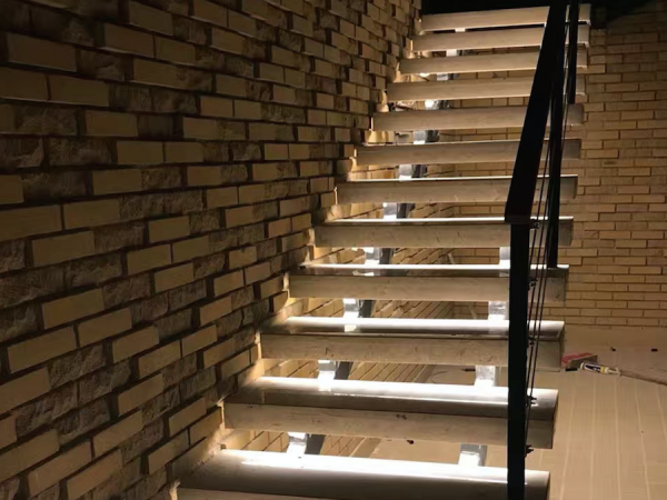 lighting Stairs in this way